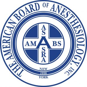 Pediatric & Adult Anesthesia of Texas (PAAT) Board Certified